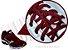 Cadarço de Tênis Vinho Oval Pol (Par) - Imagem 2