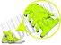 Cadarço de Tênis e Sapatênis Amarelo Fluorescente Achatado Pol (Par) - Imagem 2