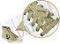 Cadarço de Tênis e Sapatênis Bege Achatado Pol (Par) - Imagem 2