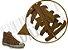 Cadarço de Tênis e Sapatênis Marrom Caramelo Achatado Pol (Par) - Imagem 2