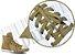Cadarço de Tênis e Sapatênis Bege Escuro Achatado Pol (Par) - Imagem 2