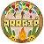 PAINEL REDONDO EM E.V.A E CARTONADO FESTA JUNINA - ARRAIA - PIFFER - Imagem 1