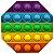 PAINEL DE FESTA EM EVA POP IT FIDGET TOYS  OCTOGONO 3D  - REF  123014 - PIFFER - Imagem 1