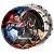 PRATO DESCARTÁVEL FESTA  BATMAN VS SUPERMAN - CONTÉM 08 UNIDADES - FESTCOLOR - Imagem 1