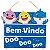 ENFEITE PLACAS  BEM VINDO DOO DOO DOO - FESTA BABY SHARK - GRINTOY - Imagem 1