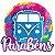 PAINEL PARABÉNS FESTA TIE DYE  - REF 122008 - PIFFER - Imagem 1