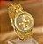 Relógio De Pulso Feminino Geneva Strass Luxury - Gold, Rose e Prata - Imagem 1