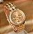 Relógio De Pulso Feminino Geneva Strass Luxury - Gold, Rose e Prata - Imagem 3