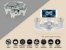 Mini Drone CX-10W Cheerson WiFi de bolso com câmera 0.3MP - Imagem 7