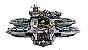 Blocos de montar Marvel Base Shields 3057 peças Compatível Lego - Imagem 4