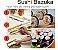 Sushi Bazuca * Fácil Rolo de Molde para fazer Sushi - Imagem 1