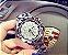 Relógio de pulso feminino  Modelo Luxo Lady Rotação / Gold- Rose - Silver - Imagem 4