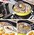 Peneira Escumadeira para frituras / pastel frango batata frita sem óleo. - Imagem 2