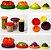 Kit 4 Tampas de Silicone Protetoras de Alimentos - Imagem 1