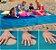 Tapete Mágico para Praia e Camping - Sandless (200cm X 200cm) - Imagem 1