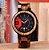 Relógio Bobo Bird - Bambu Madeira Modelo Sport Q13 Data - Imagem 2
