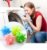 Esferas de lavagem para máquina de lavar roupas - Bola sanitária * Kit com 10 pçs - Imagem 1