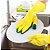 Par de Luvas de limpeza doméstica com esponja de lavar louça - Imagem 2