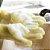 Par de Luvas de limpeza doméstica com Esponja de Silicone Antibacteriana - Imagem 3