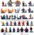 Lego Marvel / Lote com 32 bonecos - Imagem 1