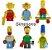 Lego Super Heróis / Kit com Personagens - Imagem 17