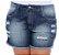 Shorts Plus Size Nerfertari - Imagem 1