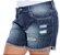 Shorts Plus Size Nerfertari - Imagem 3