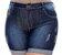 Shorts Jeans Plus Size Chamely - Imagem 1