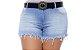 Shorts Jeans Plus Size Melyse - Imagem 1