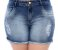 Shorts Jeans Plus Size Dariolli - Imagem 2