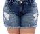 Shorts Jeans Plus Size Alcina - Imagem 2