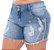 Shorts Jeans Plus Size Ramla - Imagem 2