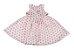 Vestido Infantil Menina Mini Flores - Imagem 1
