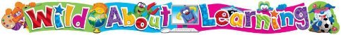 WILD ABOUT LEARNING BANNER (T-25061) - Imagem 1