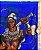 Canga de praia - Ogum, guerreiro azul - Imagem 2