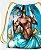 Sacola com cordões - Logunedé, guerreiro encantado - Imagem 2