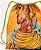 Sacola com cordões - Oxum, rainha divina - Imagem 2