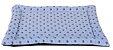 colchonet pet impermeável para cachorro ou gato 65x86 Realeza azul - Imagem 1