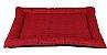 colchonet pet impermeável para cachorro ou gato 65x86 vermelho - Imagem 1