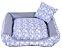 Cama Pet Tricoline Para Cachorro E Gato Tam M Colore Azul - Imagem 1