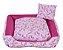 Cama Pet Tricoline Para Cachorro E Gato Tam P Unicolors Rosa - Imagem 1