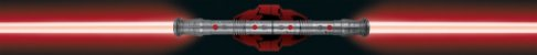 Luminária Uncle Milton Star Wars Sabre De Luz Darth Maul - Imagem 4