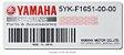 PARALAMA TRASEIRO COM CAPA CORRENTE PARA MT-03 660CC 2008 ORIGINAL YAMAHA - Imagem 3