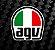 CAPACETE AGV ABERTO BLADE VALENTINO HEART - Imagem 10