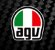 CAPACETE AGV K-3 SV ELEMENTS COM VISEIRA INTERNA - Imagem 10