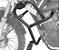 PROTETOR DE MOTOR E CARENAGENS PARA XTZ150 CROSSER ORIGINAL SCAM - Imagem 3
