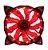 Cooler com LED Vermelho para Gabinete Gamer 120mm - Imagem 1