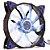 Cooler com LED Azul para Gabinete Gamer 120mm - Imagem 1