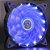 Cooler com LED Azul para Gabinete Gamer 120mm - Imagem 2