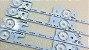 Conjunto Completo de Barras Led Tv Semp Toshiba Dl3244 Konka Kdl32mt626u Kit com 4x Peças - Imagem 3